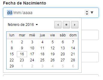 calendario bootstrap calendario bootstrap con jquery php 191 c 243 mo aplicar formato de fecha a un input de tipo