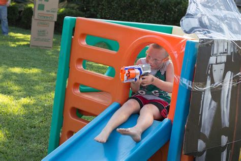 Backyard Nerf Plan An Epic And Easy Nerf War Birthday In Your Backyard