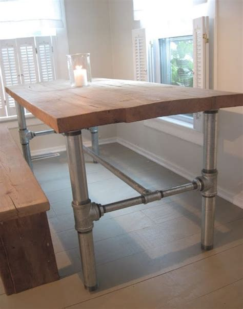diy dining room table legs 10 unique pairings of materials revolving around wood