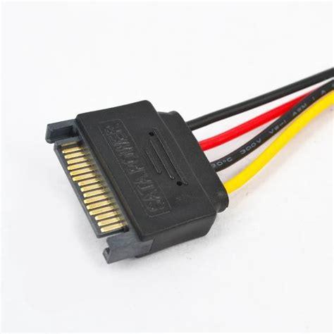 4pin To 4 Pin Extention Extension Sambungan Extender Cpu Fan Mobo Atx 15 Pin Sata To Molex Ide 4 Pin Adapter