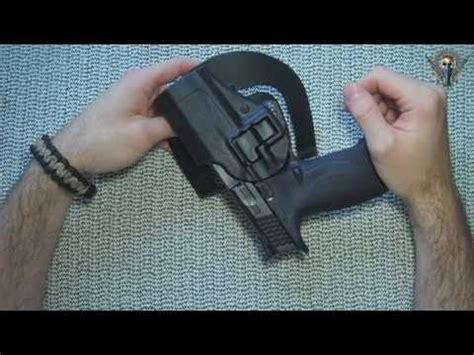 tilt n clean gutters blackhawk serpa cqc level 2 holster for s w m p9 pistol