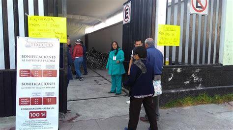 descuentos agua y predial tecamac contribuyentes en texcoco tendr 225 n descuentos en predial y