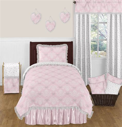 light pink comforter elegant light pink butterfly bedding damask print 4pc twin