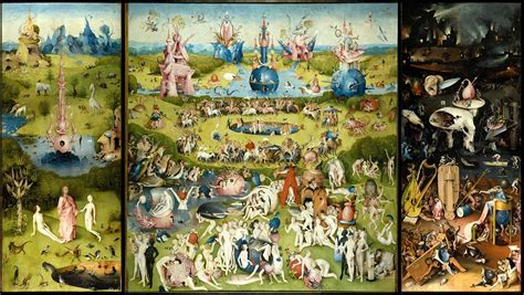 hieronymus bosch garden of before the flood thoughts on leonardo dicaprio s climate