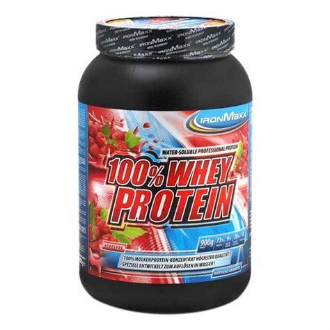 Ironmaxx Protein Ironmaxx Whey Protein Raspberry Powder Digestable