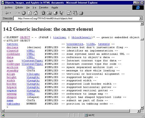 imagenes html width inserci 243 n de applets java