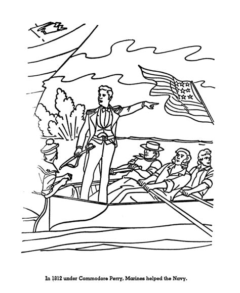 pin revolutionary war coloring pages on pinterest