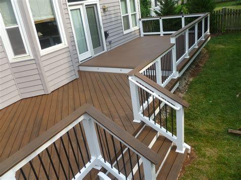 exterior design interesting azek decking  deck ideas