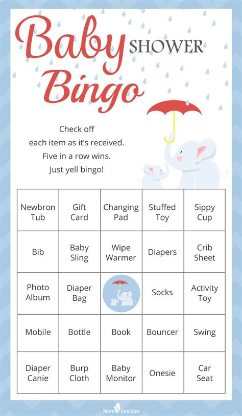 Baby Shower To Play by Best 25 Baby Shower Bingo Ideas On Free Baby