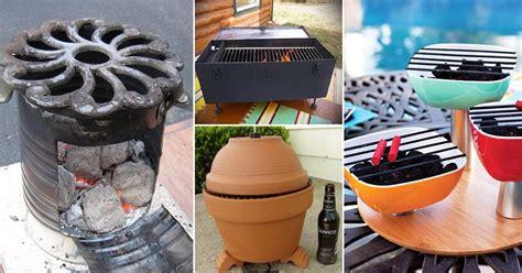 diy bbq grill ideas  summer balcony garden web