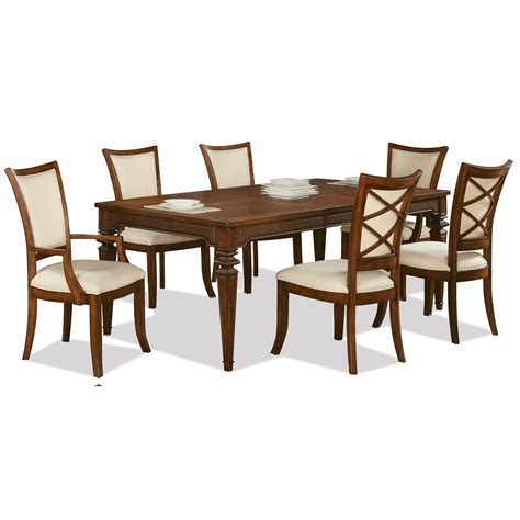 riverside table and chairs riverside furniture windward bay 7 traditional table
