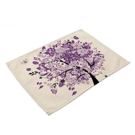 colorful placemats colorful tree placemats insulation place mats table