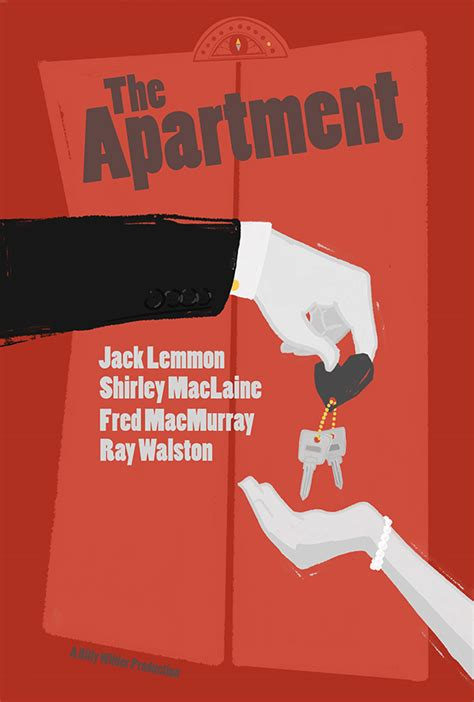 appartment movie the apartment movie poster on behance