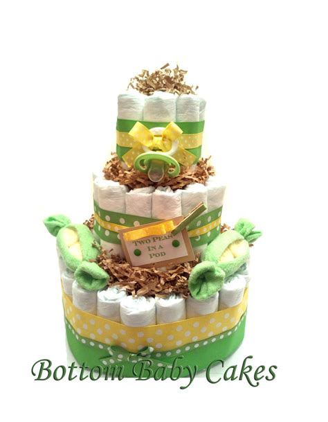 two peas in a pod baby cake baby gift set shower