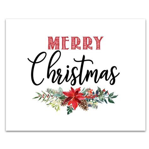 printable christmas signs merry christmas printable merry christmas sign printable