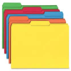 colored folders smead 11993 11993 assortment colored file folders with