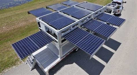 the world s largest mobile solar powered generator