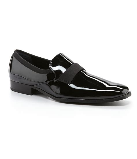 calvin klein womens loafers calvin klein guilford patent dress loafers in black for