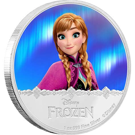 film elsa dan ana melahirkan disney frozen silver coin anna new zealand mint