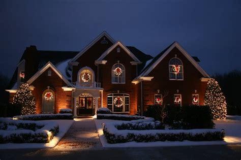 christmas lighting projects traditional holiday lighting omaha by holidynamics