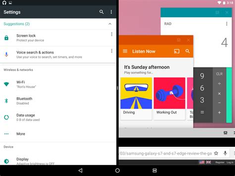 android mode android n s freeform multi window mode will not be available on any nexus device