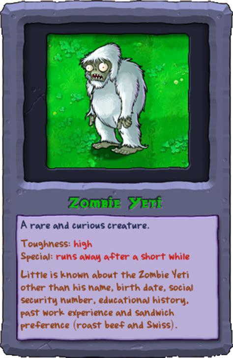 zombie yeti tutorial zombie yeti plants vs zombies wiki the free plants vs
