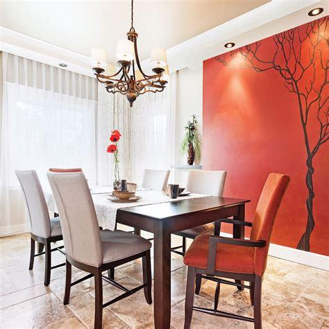 idee couleur salle a manger peinture salle a manger tendance avec deco peinture salon