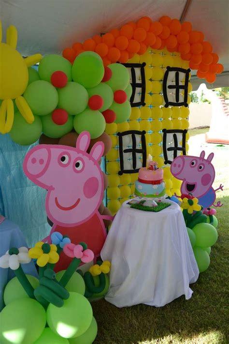 Peppa Pig Decoration Ideas peppa pig birthday ideas