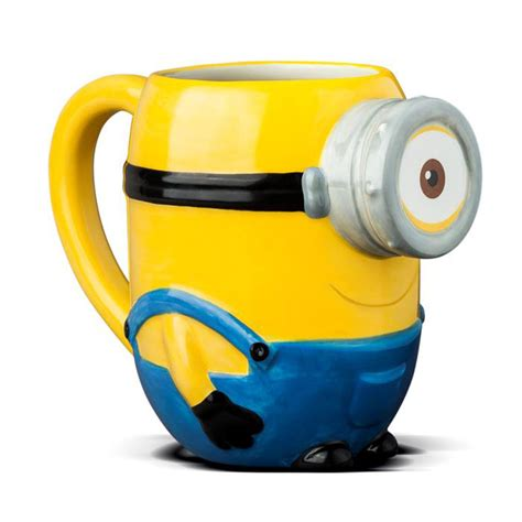 Mug Custom Minions 3 minions ceramic stuart 3d mug with banana scented