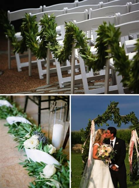 10 Creative Ways to Line the Wedding Ceremony Aisle   OneWed