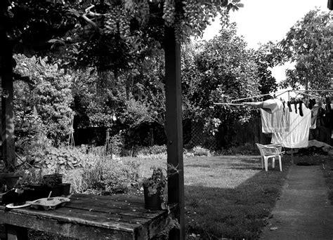 Black In Backyard by Black And White Elisapeta