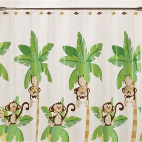 monkey shower curtain hooks monkey shower curtain hooks town bananas