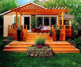 outdoor ideas deck garden