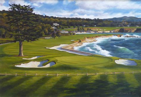 pebble beach perfect day the 18th hole at pebble beach golf links famous