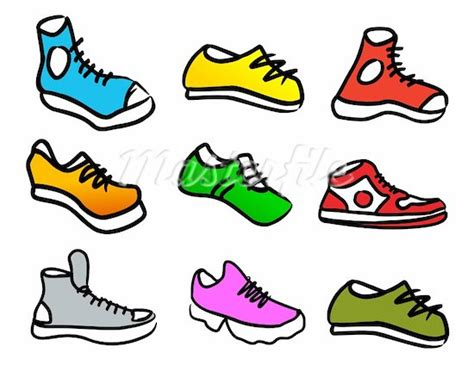 shoes walking clipart