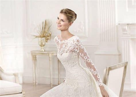 imagenes de vestidos de novia con media manga vestidos de novia sencillos con manga larga