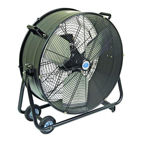 home barrel fan prem i air 24 quot portable drum fan