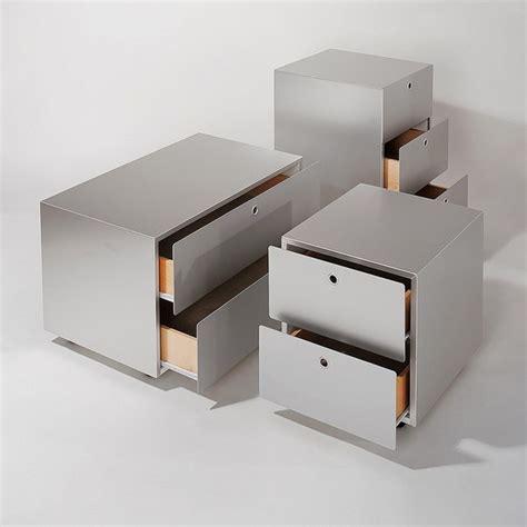 cassettiere modulari cassettiera a terra modulare in alluminio e legno