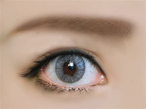 colorful contacts colorful contact lenses european pupil color style gray