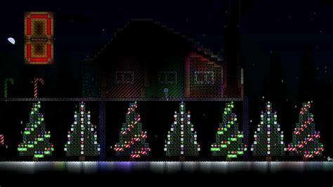 terraria my christmas lights house youtube