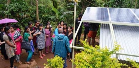 Pg Centre Thrissur Mba by Amrita Wna Achieves Solar Electrification Of Remote Tribal