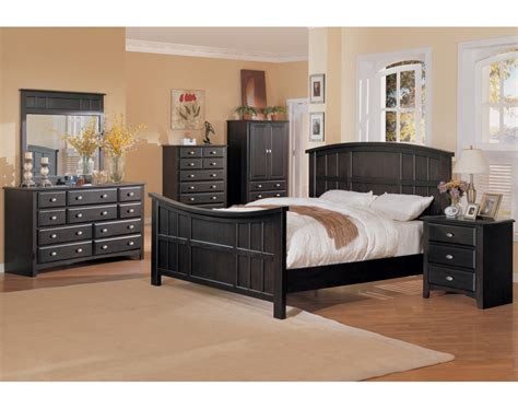 Espresso Bedroom Furniture Broadway Bedroom Set Espresso Finish
