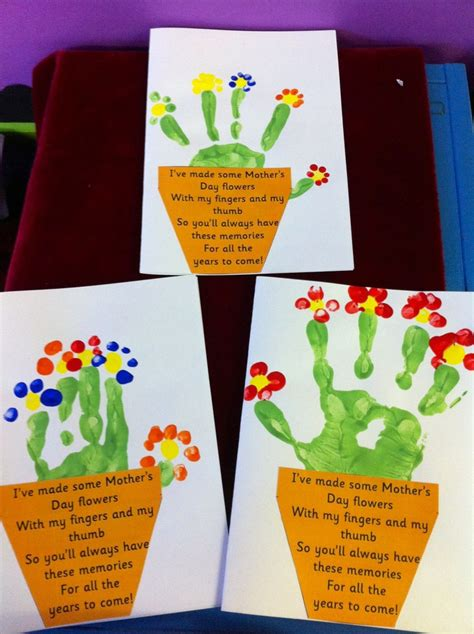 mothers day cards to make in school 12 easy s day crafts for toddlers to make diy for