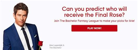 Fantasy Sweepstakes - bachelor fantasy league sweepstakes abc com bfl sweepstakes pit