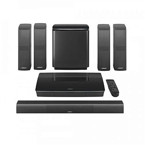 bose lifestyle  home theatre system black