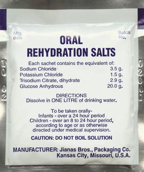 rehydration salts rehydration salts