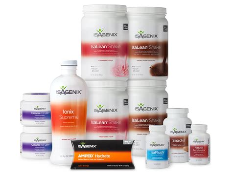 Thrive Health Systems 30 Day Detox by Weight Loss System Isagenix 30 Day System