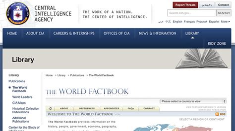 The Cia World Factbook 2014 10 websites that will make you smarter the exeter daily