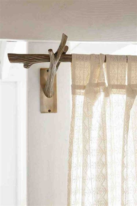 Branch Curtain Rod » Home Design 2017