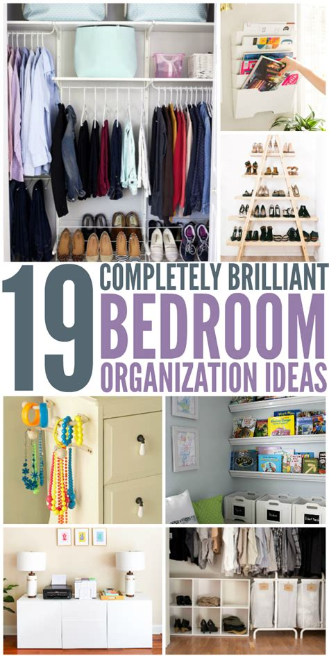 bedroom organization hacks 19 bedroom organization ideas